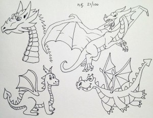 Dragons dessin