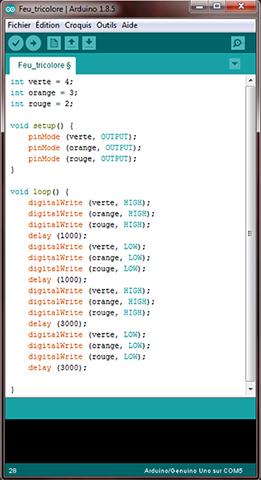 ARDUINO_programmation_code