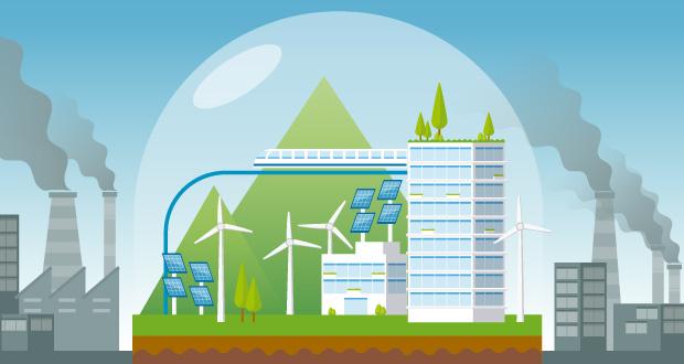 Ecosystème versus pollution