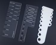 De gauche à droite : prototype #3, prototype #2 et prototype #1